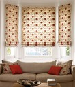 Genevieve Coral Roman Blind